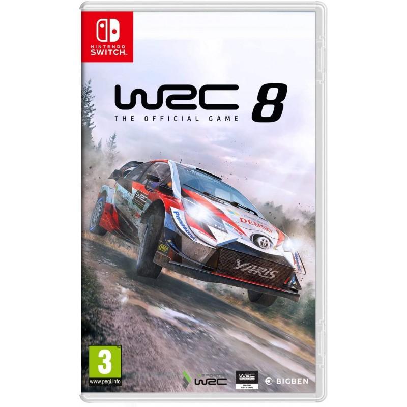 SWITCH WRC 8 OCC - Jeux Switch au prix de 34,95€