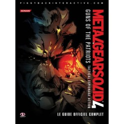 GUIDE PS3 METAL GEAR SOLID 4 - Guides de Jeux au prix de 12,95 €