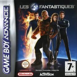 GA LES 4 FANTASTIQUES - Jeux Game Boy Advance au prix de 4,95€