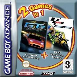 GA 2 GAMES IN 1 GT3 ADVANCE + MOTO GP - Jeux Game Boy Advance au prix de 4,95€