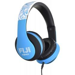CASQUE FILAIRE KONIX MOBILITY TURQUOISE - Ecouteurs Téléphones au prix de 14,95€