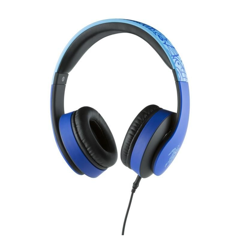 CASQUE FILAIRE KONIX MOBILITY BLEU - Ecouteurs Téléphones au prix de 14,95€