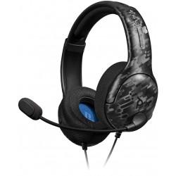 CASQUE FILAIRE LVL 40 NEW MIX PS4 CAMO - Casques Gaming au prix de 34,95€