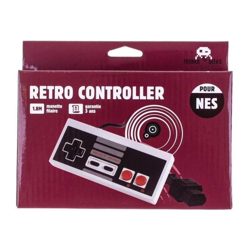 MANETTE RETRO CONTROLLER NES FREAKS & GEEKS - Accessoires NES au prix de 9,95€