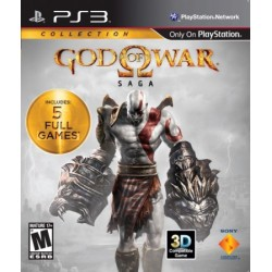 PS3 GOD OF WAR SAGA (IMPORT US) - Jeux PS3 au prix de 14,95€