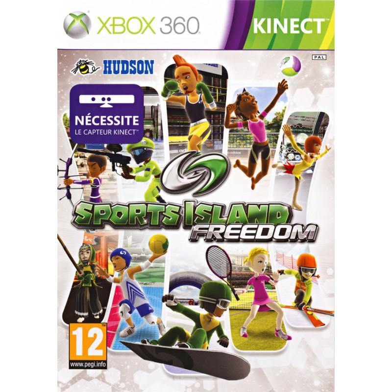 X360 SPORTS ISLAND FREEDOM - Jeux Xbox 360 au prix de 14,95€