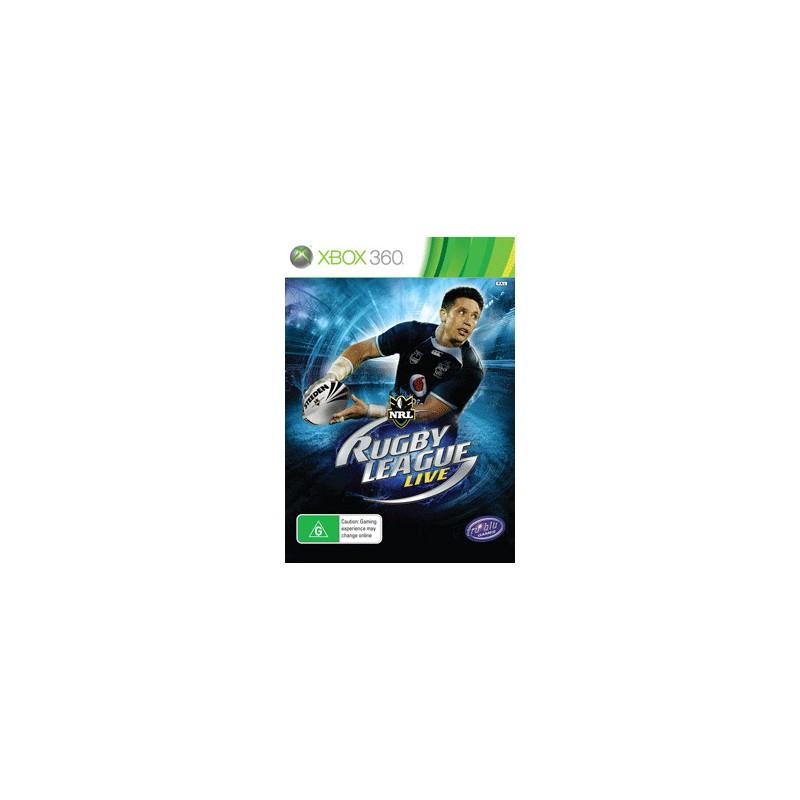 X360 RUGBY LEAGUE LIVE - Jeux Xbox 360 au prix de 19,95€