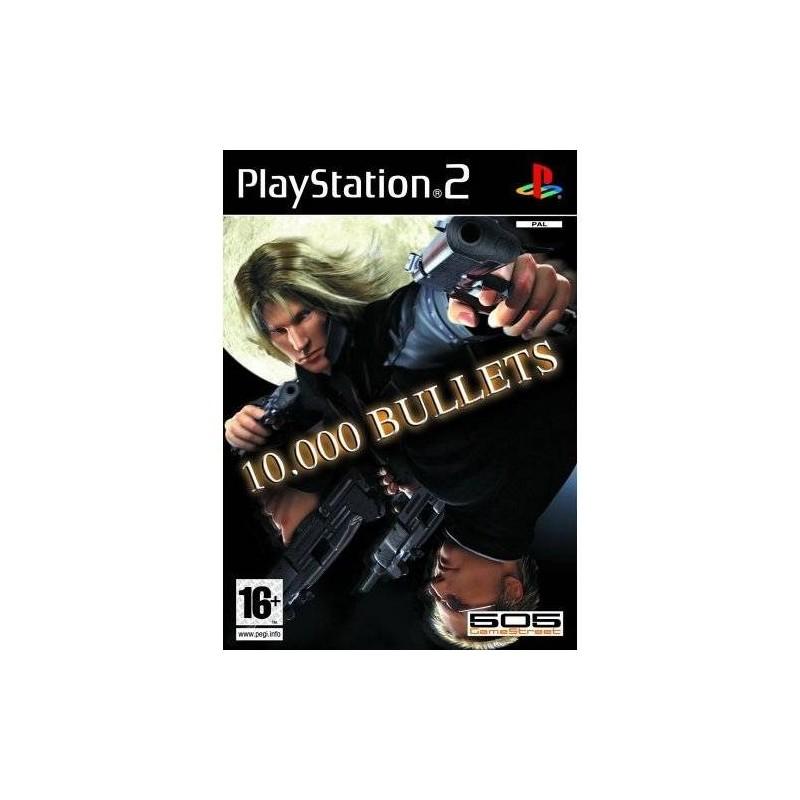 PS2 10000 BULLETS - Jeux PS2 au prix de 9,95€