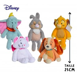 PELUCHE DISNEY ANIMALS 25CM ASSORTIMENTS - Peluches au prix de 14,95 €