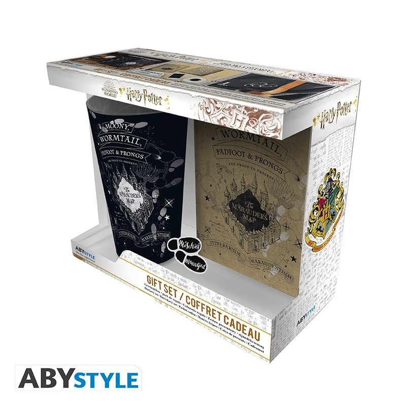 COFFRET MUG HARRY POTTER CARTE DU MARAUDEUR MUG PIN S CARNET - Autres Goodies au prix de 19,95€