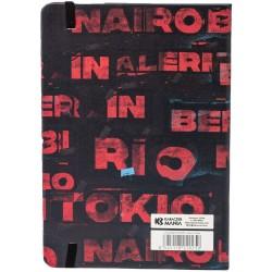 CARNET LA CASA DE PAPEL CITIES A5 - Papeterie au prix de 11,95€