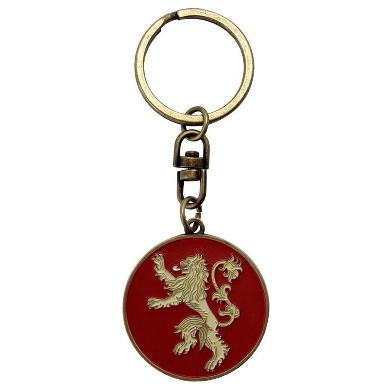 PORTE CLES GAME OF THRONES LANNISTER METAL - Porte Clés au prix de 6,95 €
