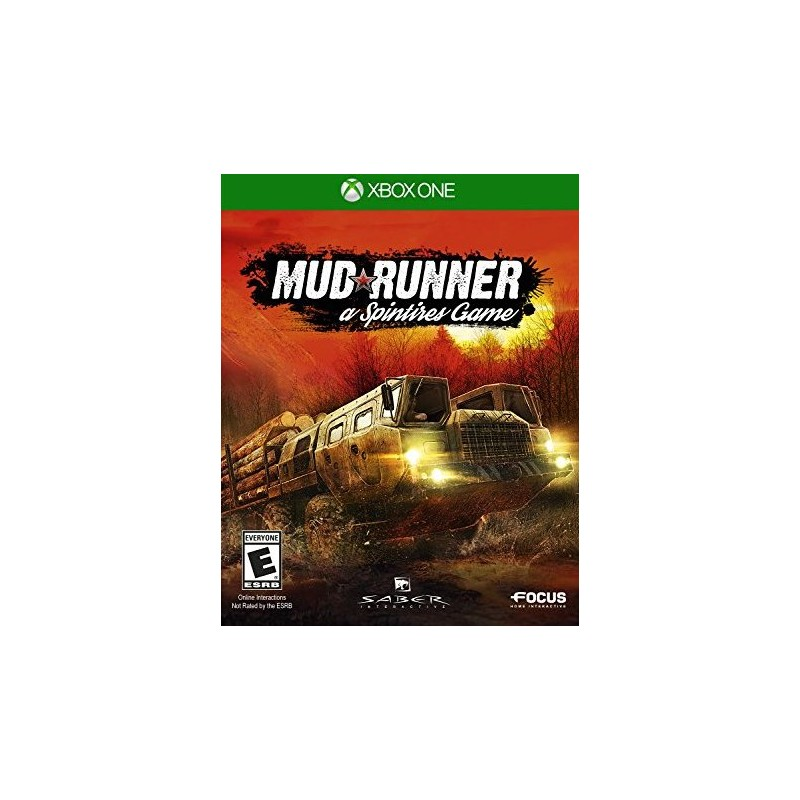 XONE MUDRUNNER A SPINTIRES GAME OCC - Jeux Xbox One au prix de 19,95 €