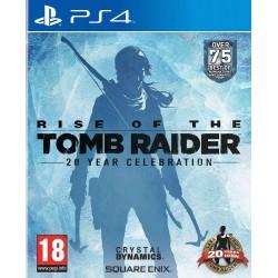 PS4 RISE OF THE TOMB RAIDER 20 YEAR CELEBRATION - Jeux PS4 au prix de 19,95€