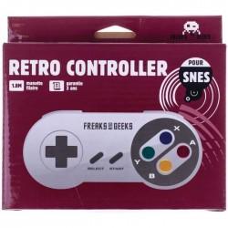MANETTE SUPER NINTENDO FREAKS AND GEEKS - Accessoires Super NES au prix de 9,95€