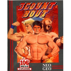 NG 3COUNT BOUT - Jeux Neo-Geo au prix de 299,95€