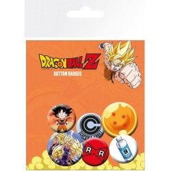BADGES DRAGON BALL Z X5 - Autres Goodies au prix de 4,95 €