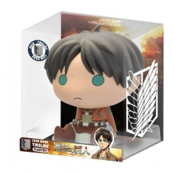 TIRELIRE ATTACK ON TITAN CHIBI EREN 16CM - Autres Goodies au prix de 14,95 €