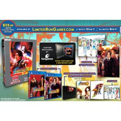 PS4 THE KING OF FIGHTERS 98 ULTIMATE MATCH COLLECTOR EDITION LIMITED RUN - Jeux PS4 au prix de 109,95€
