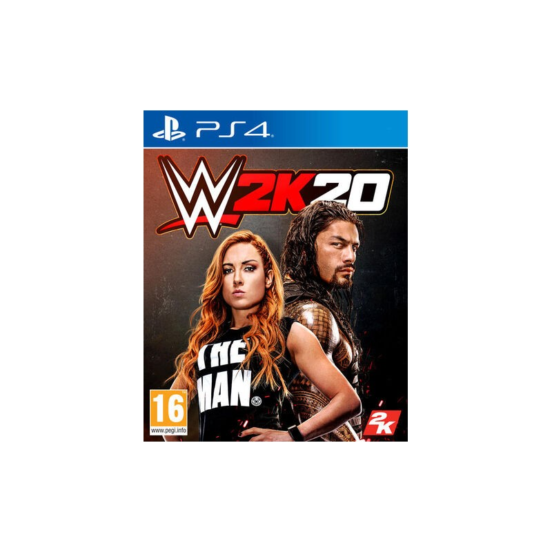 PS4 WWE 2K20 OCC - Jeux PS4 au prix de 14,95€