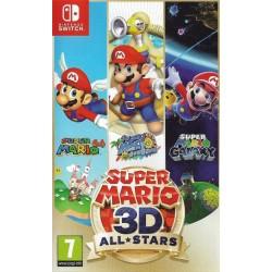 SWITCH SUPER MARIO 3D ALL STARS OCC - Jeux Switch au prix de 39,95€