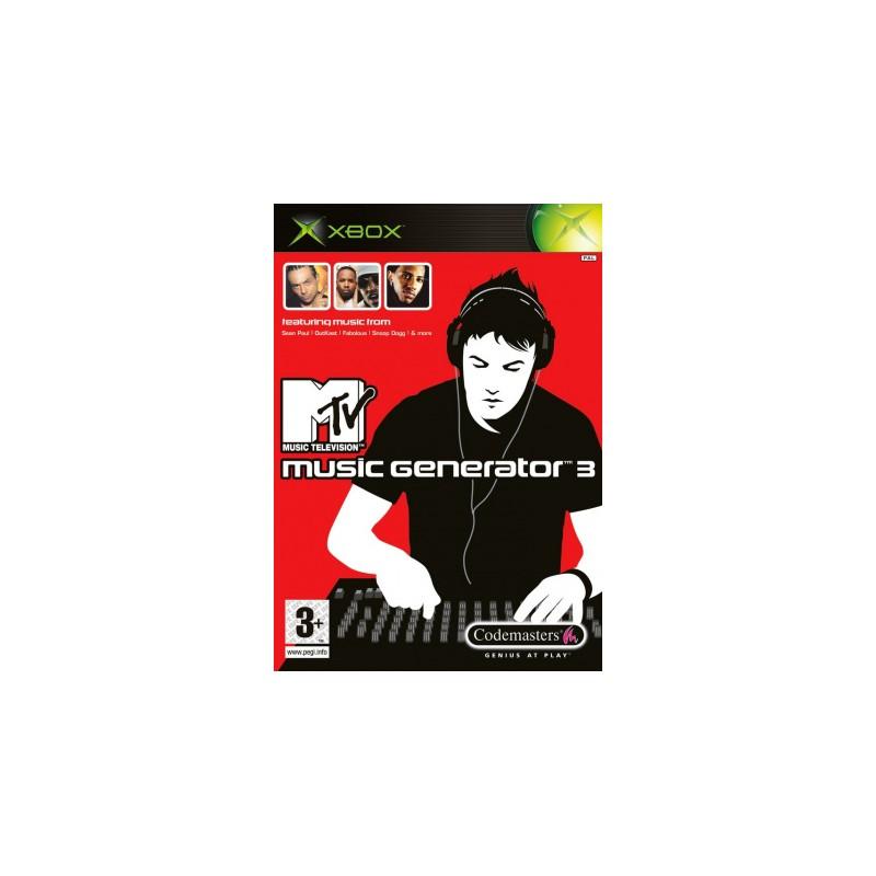 XB MTV MUSIC GENERATOR 3 - Jeux Xbox au prix de 9,95€