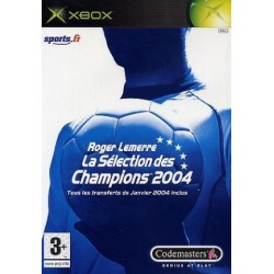 XB ROGER LEMERRE 2004 - Jeux Xbox au prix de 2,95€