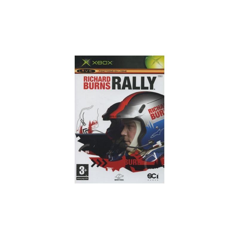 XB RICHARD BURNS RALLY - Jeux Xbox au prix de 4,95€