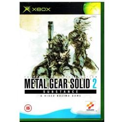 XB METAL GEAR SOLID 2 SUBSTANCE - Jeux Xbox au prix de 7,95€