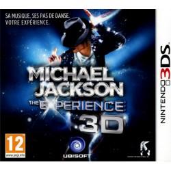 3DS MICHAEL JACKSON THE EXPERIENCE 3D - Jeux 3DS au prix de 7,95€