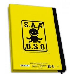 NOTEBOOK ASSASINATION CLASSROOM A5 KORO SENSEI - Papeterie au prix de 9,95€