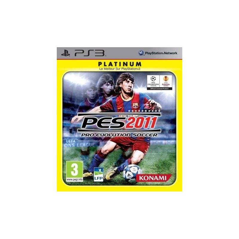 PS3 PES 2011 (PLATINUM) - Jeux PS3 au prix de 1,95€