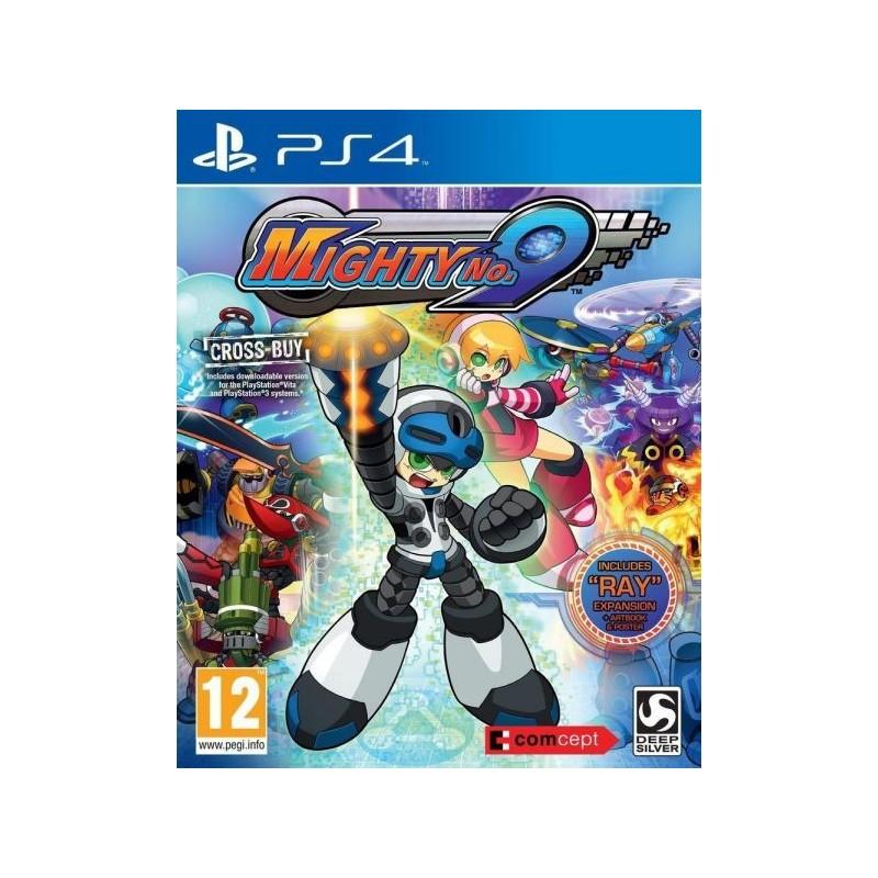 PS4 MIGHTY NO.9 OCC - Jeux PS4 au prix de 9,95€