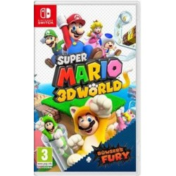 SWITCH SUPER MARIO 3D WORLD + BOWSER S FURY - Jeux Switch au prix de 59,95 €