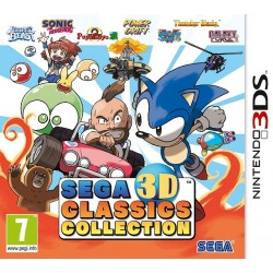 3DS SEGA 3D CLASSICS COLLECTION - Jeux 3DS au prix de 14,95€