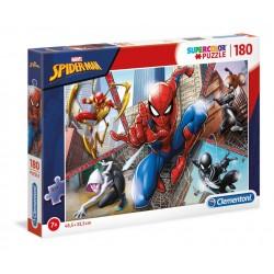 PUZZLE MARVEL SPIDERMAN SPIDERVBERSE 5 PERSONNAGES SUPERCOLOR 180 PIECES - Puzzles & Jouets au prix de 9,95€