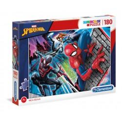 PUZZLE MARVEL SPIDERMAN SPIDERVBERSE 3 PERSONNAGES SUPERCOLOR 180 PIECES - Puzzles & Jouets au prix de 9,95€