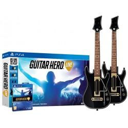 PS4 GUITAR HERO LIVE (PACK 2 GUITARES) OCC - Jeux PS4 au prix de 79,95€