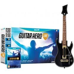WIU GUITAR HERO LIVE AVEC GUITARE OCC - Jeux Wii U au prix de 24,95€