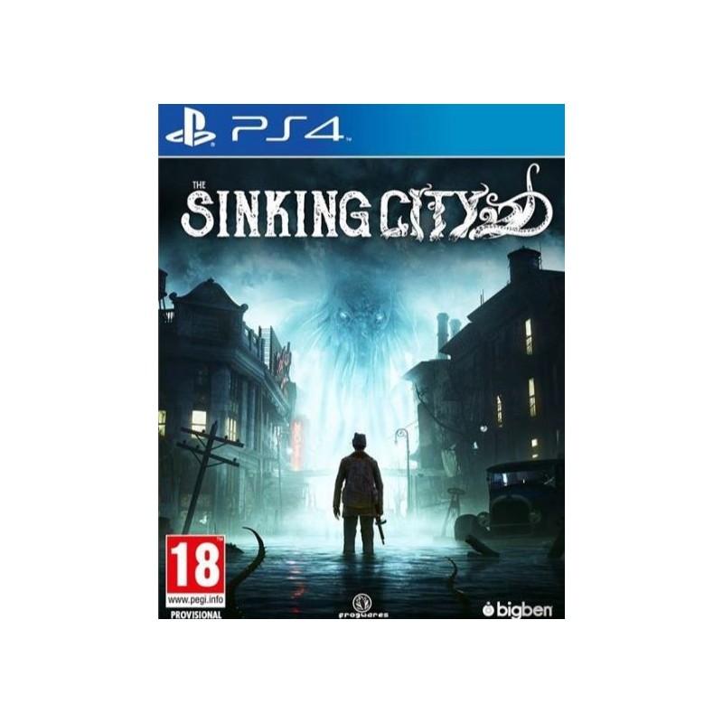 PS4 THE SINKING CITY OCC - Jeux PS4 au prix de 19,95€