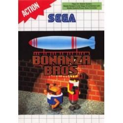 MS BONANZA BROS (SANS NOTICE) - Jeux Master System au prix de 14,95€