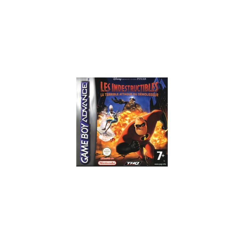 GA LES INDESTRUCTIBLES LA TERRIBLE ATTAQUE DU DEMOLISSEUR - Jeux Game Boy Advance au prix de 4,95€
