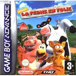 GA LA FERME EN FOLIE - Jeux Game Boy Advance au prix de 6,95€