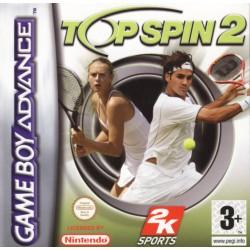 GA TOP SPIN 2 - Jeux Game Boy Advance au prix de 4,95€