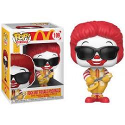 POP ICONS 109 ROCK OUT RONALD MCDONALD - Figurines POP au prix de 14,95€