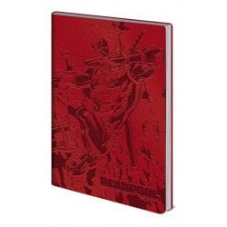 CARNET MARVEL DEADPOOL ACTION A5 - Papeterie au prix de 6,95 €