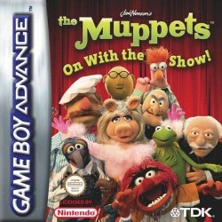 GA THE MUPPETS ON WITH THE SHOW! - Jeux Game Boy Advance au prix de 6,95€