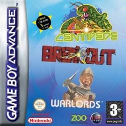 GA CENTIPEDE BREAKOUT WARLORDS (NEUF) - Jeux Game Boy Advance au prix de 9,95€