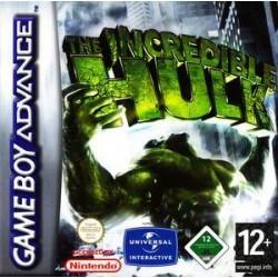 GA THE INCREDIBLE HULK - Jeux Game Boy Advance au prix de 6,95€