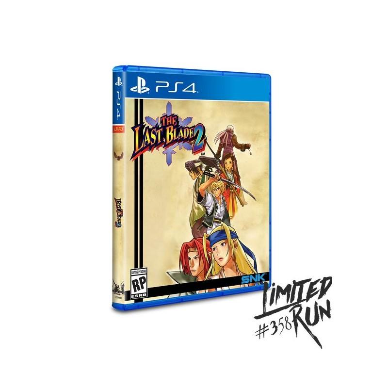 PS4 THE LAST BLADE 2 (LIMITED RUN) - Jeux PS4 au prix de 59,95€